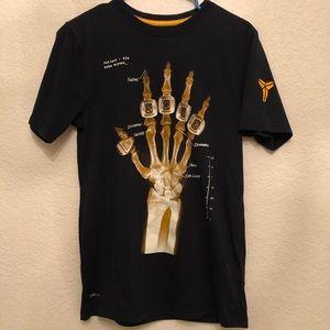 Nike Kobe Bryant Rings Dri Fit X-Ray Hand Black S f50b42de9b